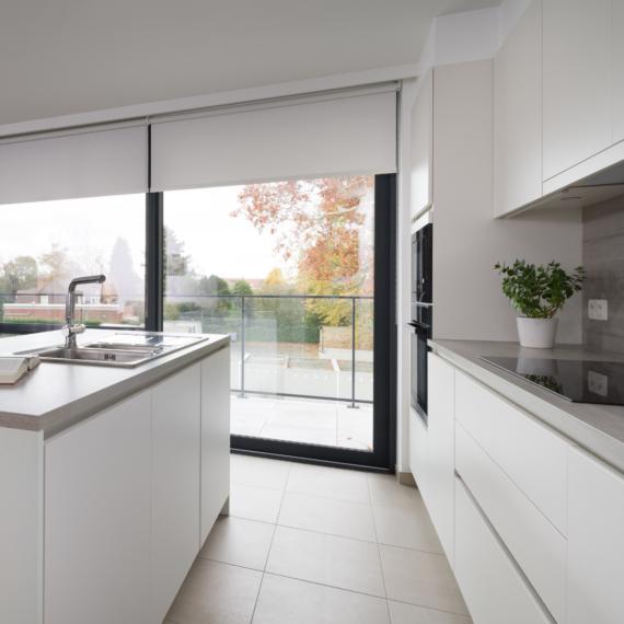 Appartement met open keuken