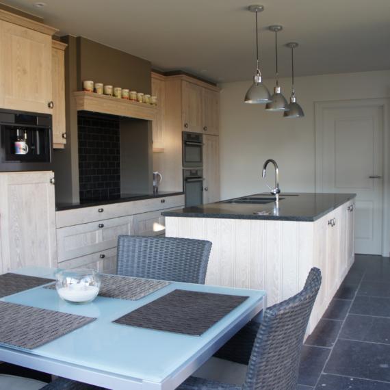 Uitbouw keuken renovatie