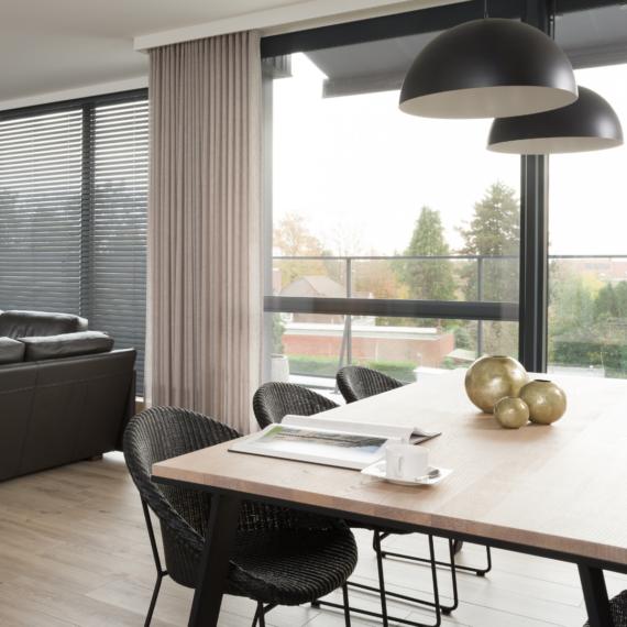Modern interieur hout accent