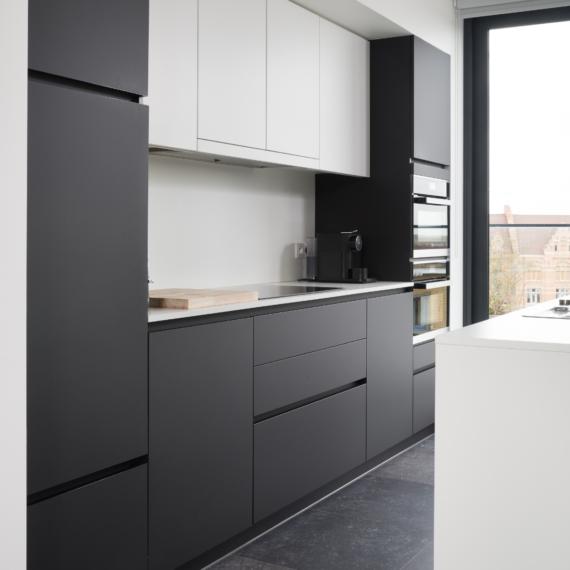 Moderne strakke keuken