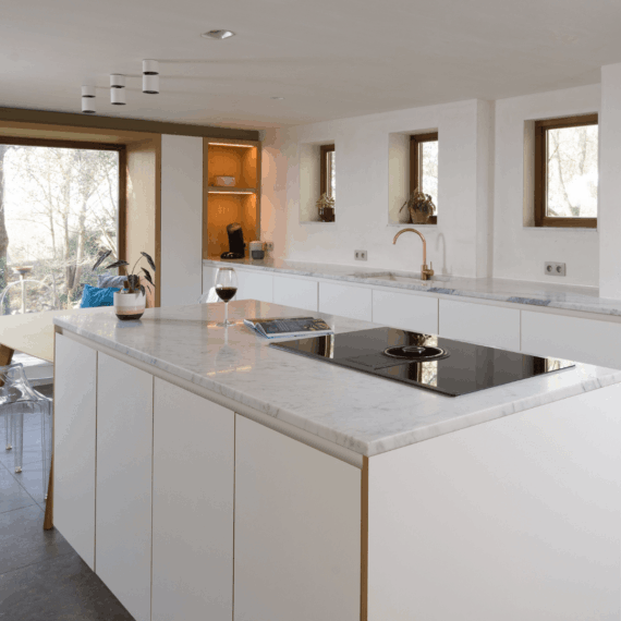 Strak keuken design