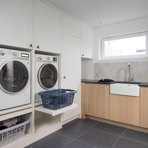 Wasplaats - inbouw wasmachine