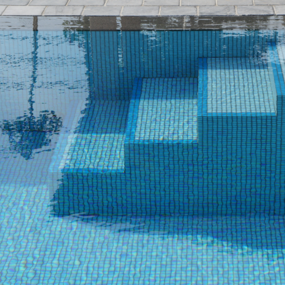 Zwembad trap