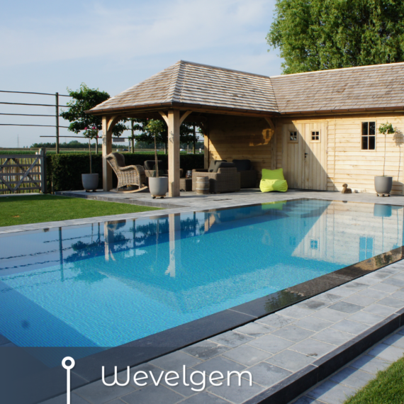 Wim Beyaert zwembad realisatie Wevelgem