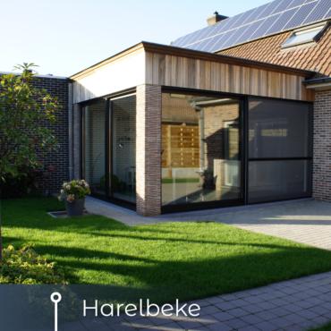 Keuken uitbouw Harelbeke